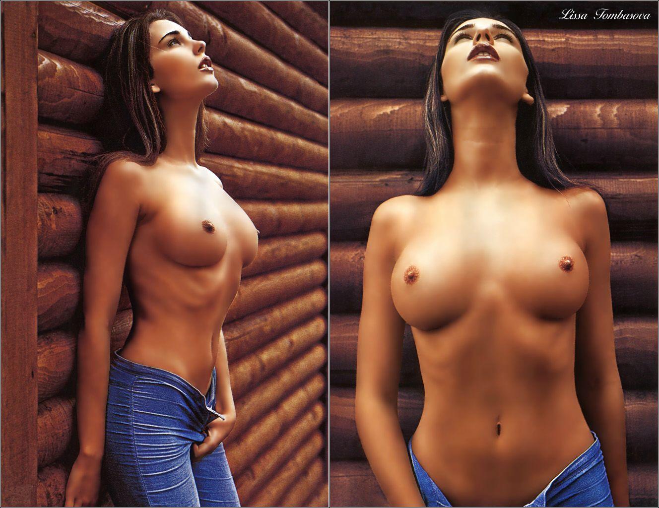Фото идеальной женской груди голой